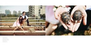 7.動物風格婚紗