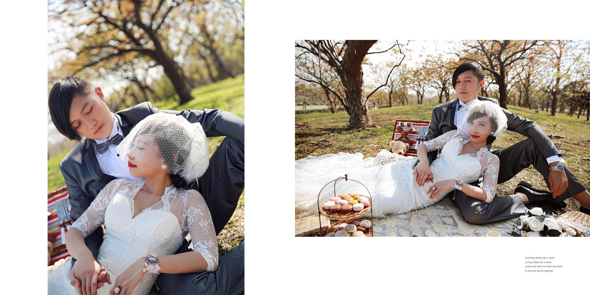 11.貴族下午茶野餐風格婚紗