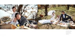 13.貴族下午茶野餐風格婚紗