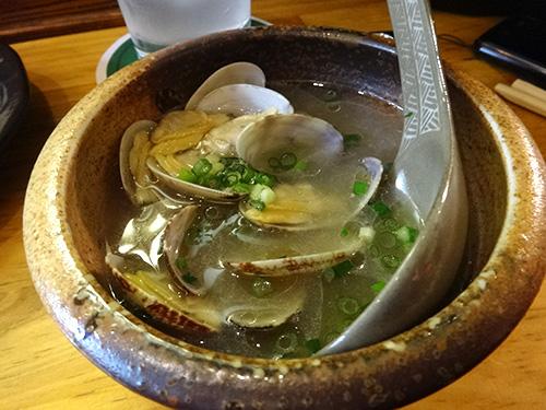 39あさり和風スープ