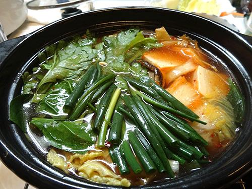 10キムチ鍋