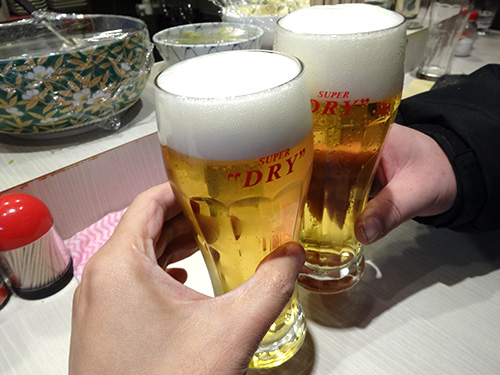 13生ビール350