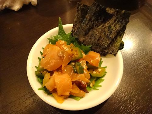 30海鮮昆布じめ黄身醤油