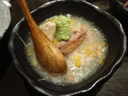 39鹿児島もち豚バラの粥煮