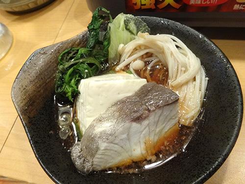 08豆腐春菊えのき白菜カンパチ