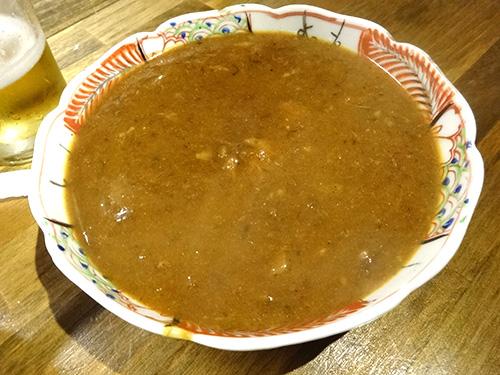 28牛スジの煮込みカレー