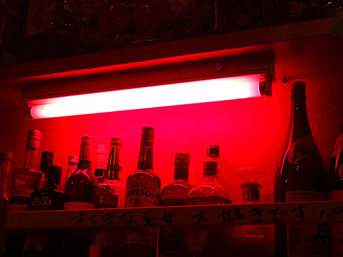 37ピンク照明