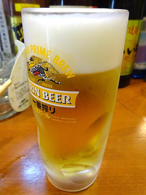 36生ビール