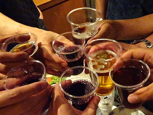 14乾杯2ワイン