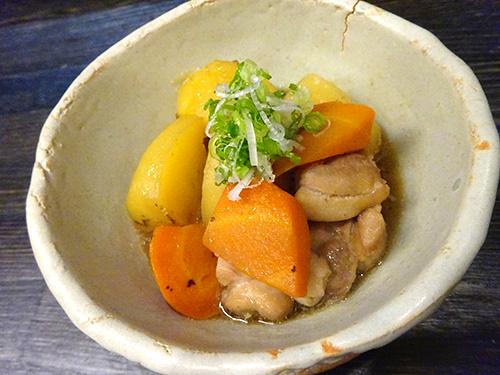 19鶏ももとジャガ芋のふくめ煮250