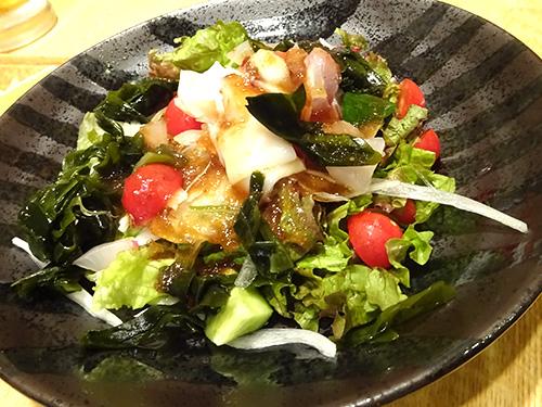 30海鮮サラダ