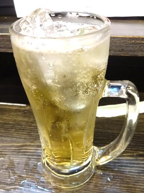 30梅酒ソーダ割り