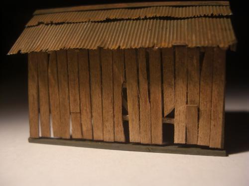 鉄道模型  森林鉄道機関庫 Zゲージ 14