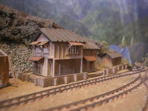 森林鉄道 従業員官舎10