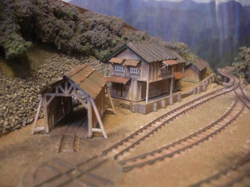 森林鉄道 従業員官舎1