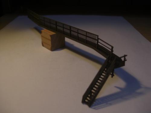 鉄道模型 ローカル駅舎 鉄柵フェンス3