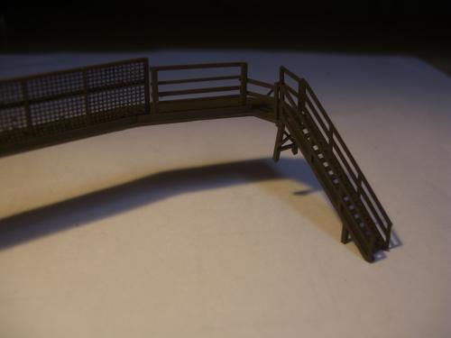 鉄道模型 ローカル駅舎 鉄柵フェンス2