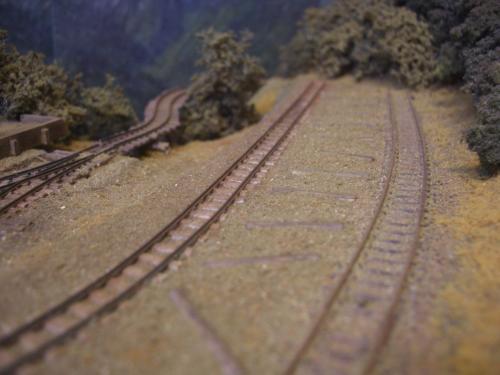 森林鉄道 木材積込所3