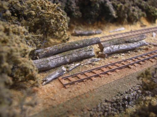 森林鉄道 木材積込所4
