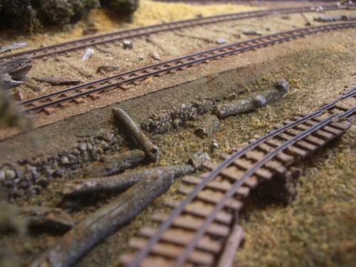 森林鉄道 木材積込所5