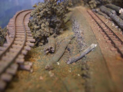 森林鉄道 木材積込所6
