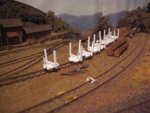 森林鉄道 木材積込所7
