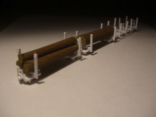 森林鉄道 木材積込所8