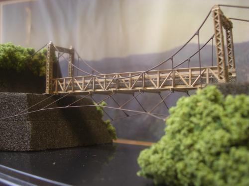 キムタク 「HERO」第5話 吊り橋模型 2