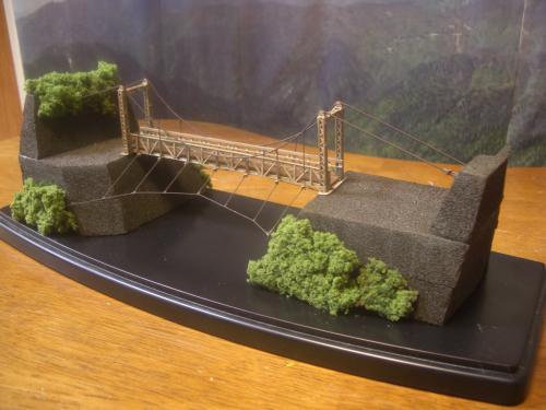 キムタク 「HIRO」第5話 吊り橋模型 1