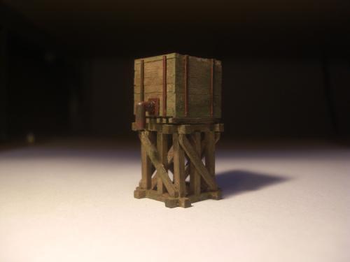 森林鉄道 給水塔 鉄道模型3
