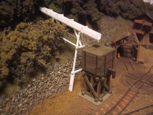森林鉄道 給水塔 鉄道模型4