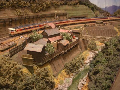 鉄道模型 Nゲージモジュール 渓谷1