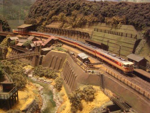 鉄道模型 Nゲージモジュール 渓谷3