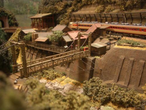 鉄道模型 Nゲージモジュール 渓谷2