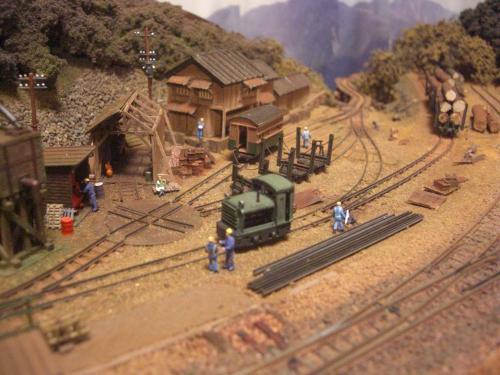 鉄道模型 森林鉄道 1