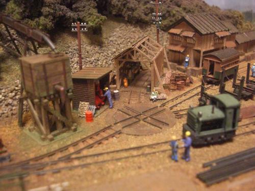 鉄道模型 森林鉄道3