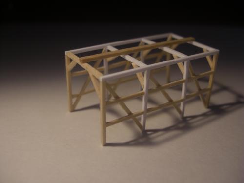 鉄道模型 軽便機関庫 2
