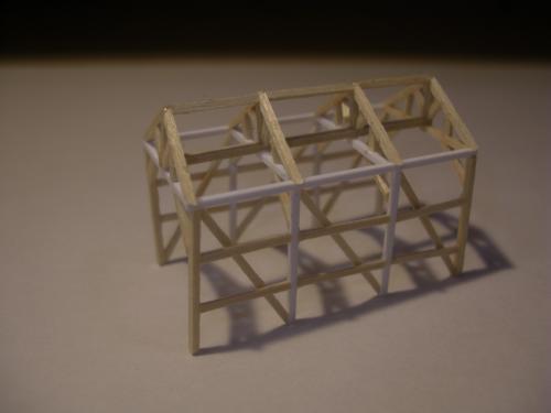 鉄道模型 軽便機関庫 3