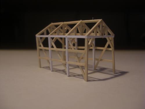 鉄道模型 軽便機関庫 4