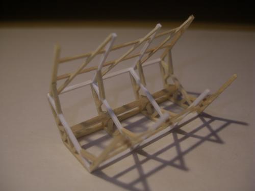 鉄道模型 軽便機関庫 5