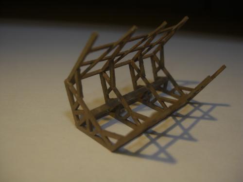 鉄道模型 軽便機関庫 8