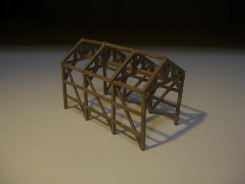 鉄道模型 軽便機関庫 7