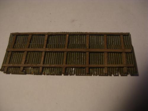 鉄道模型  森林鉄道機関庫 Zゲージ 12