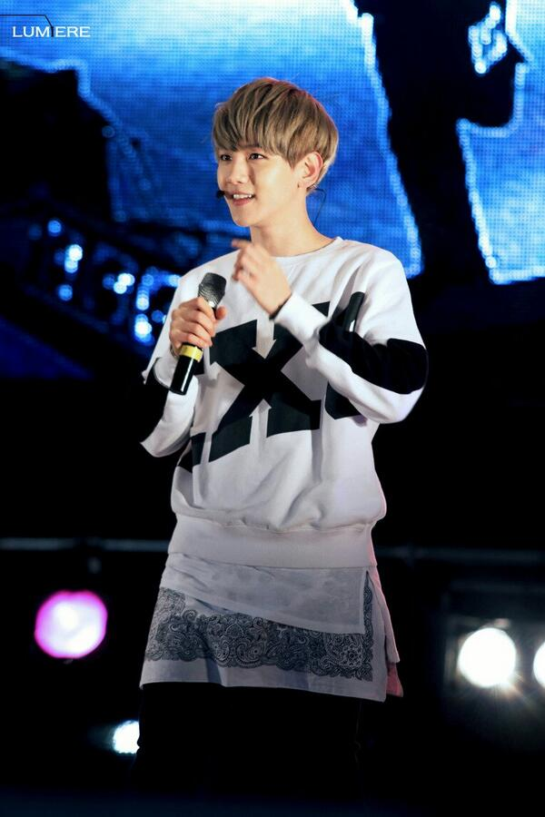 140126 Baekhyun @ Oak Valley Winter Festival