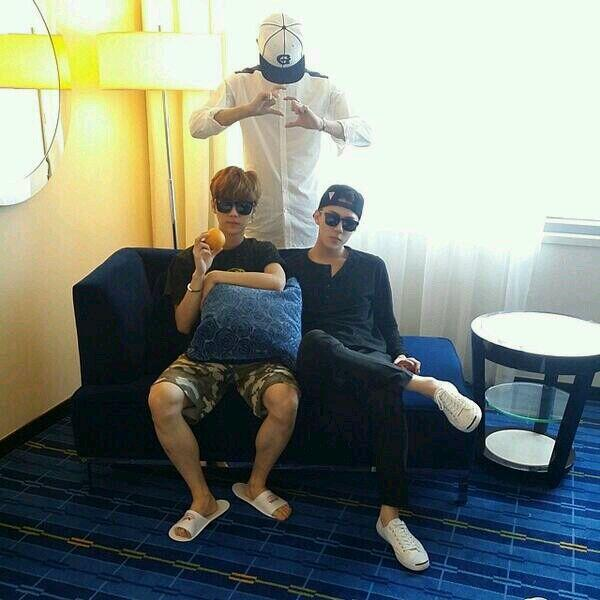 140531 Sehun Instagram update