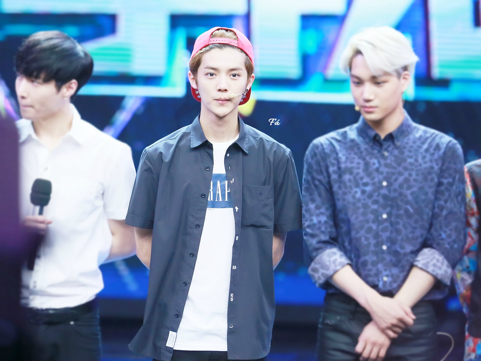 140611 #LUHAN - Happy Camp Recording 1