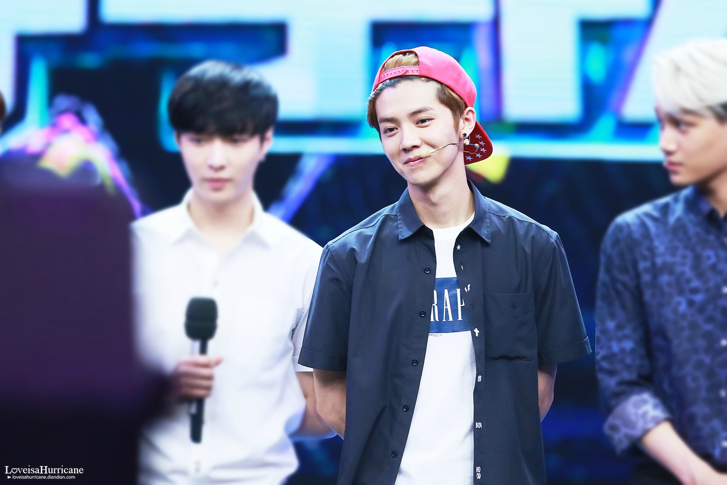 140611 #LUHAN - Happy Camp Recording 2