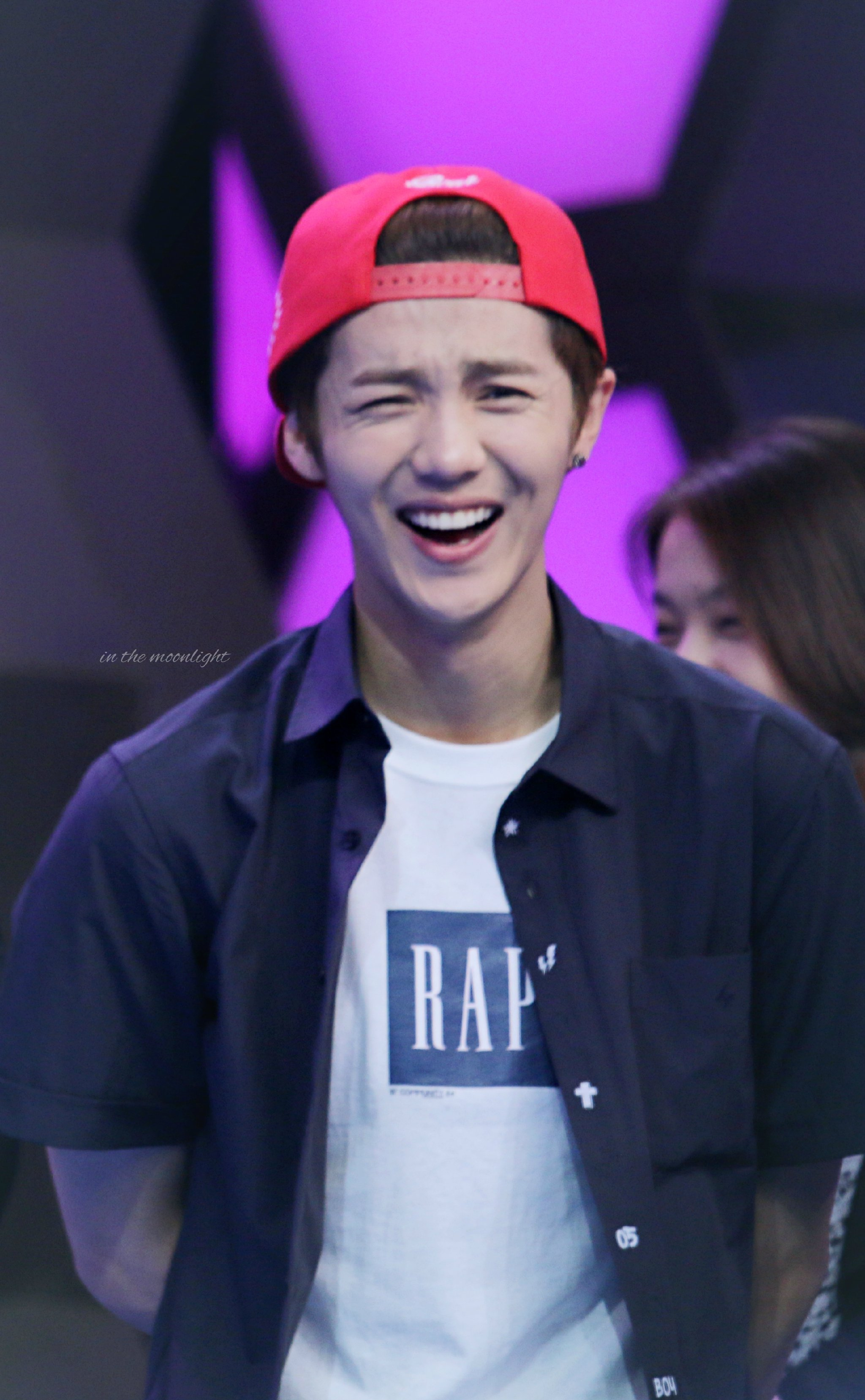 140611 #LUHAN - Happy Camp Recording