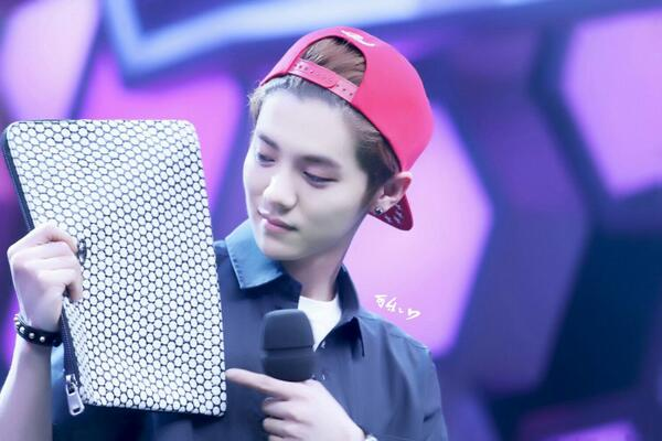 140611 Luhan - Happy Camp Recording