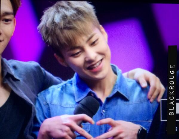 140611 Xiumin @ Happy Camp Recording 2
